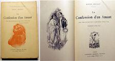 CURIOSA/M.PREVOST/CONFESSION D'UN AMANT/ED LEMERRE/1903/P.LEROY ILLUSTRATEUR