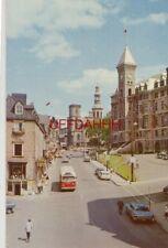 1962 RUE DE LA FABRIQUE STREET, BASILIQUE NOTRE DAME, HOTEL DE VILLE QUEBEC 1962