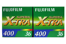 TWO Fuji Superia 400 36exp film - Excellent All-round 400 speed film