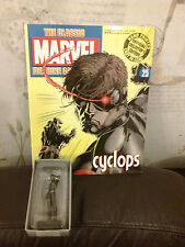 CLASSIC MARVEL FIGURINE COLLECTION 25 CYCLOPS FIGURE BOXED W MAGAZINE X MEN