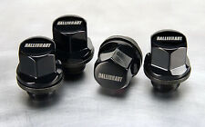 2014 MITSUBISHI LANCER BLACK FINISH RALLIART LOGO WHEEL LOCK SET OEM MZ314761