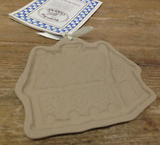 Brown Bag Cookie Art Heart Village Cottage House Hill Gingerbread Mold Recipe