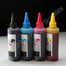 400ml (100ml per color)  Refill bulk Ink  for  HP60 HP901 60 /XL 901 /XL