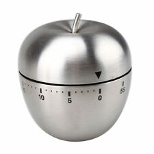 Kitchen Cooking Countdown 60 Minutes Stainless Steel Mechanical Timer Alarm