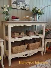 Shabby Chic French Farmhouse Style Console Sideboard Hall Side Table * SECONDS *