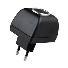Car Van Charger Power Adapter Cigarette Lighter Socket 240V EU Plug to 12V