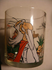 ASTERIX verre à moutarde NUTELLA French Drink Glass GOSCINNY UDERZO 1999