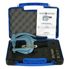 Roper Whitney XX Hand Punch Kit - Includes plastic case and 7 punch and dies