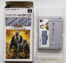 SWORD WORLD SFC2 sur Nintendo Super Famicom SNES