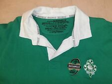 """Classic BUSHMILLS Whiskey 1608 IRELAND RUGBY SHIRT~Front/Back Print~XL~46""""/48"""""""