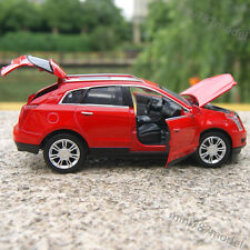 Cadillac SRX SUV 1:32 Alloy Diecast Model Cars Sound&Light Red Collections&Gifts