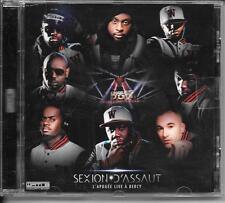 CD ALBUM LIVE--SEXION D'ASSAUT--L'APOGEE LIVE A BERCY 2012-2013 (FRENCH RAP)
