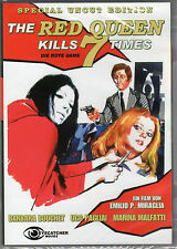 Red Queen kills 7 times , special uncut , Eyecatcher , DVD , new and sealed !