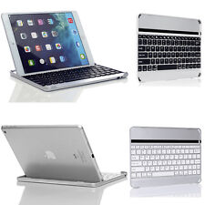 For Apple iPad 3 4 2 iPad Air 5 Aluminum Wireless Bluetooth Keyboard Case Cover