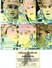 HAND COLLATED COMPLETE SET HOCKEY 1992/93 UD HOLOGRAM CARDS 01-06 RARE