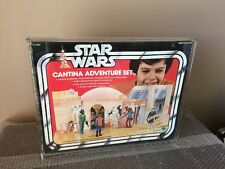KENNER STAR WARS - CANTINA ADVENTURE SET - SEARS EXCLUSIVE - BLUE SNAGGLETOOTH