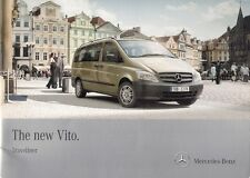 Mercedes-Benz Vito Traveliner 2010 UK Market Sales Brochure 110 113 116 122 CDi