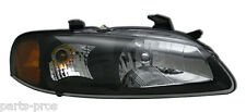 New Replacement Black Headlight Assembly RH / FOR 2002-03 NISSAN SENTRA