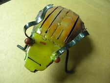 Metal Art Beetle Sculpture,statuary,abstract,durable,industrial,slit top