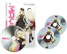 VOCALOID3 MAYU Library EXIT TUNES Windows SPECIAL 2 x CD PC Software Japan NEW