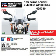 HARLEY STREET XG750  2014-16 N.C. DEFLECTOR QUICKSET WINDSHIELD N25040