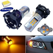 CAN-bus Amber PY24W 5200s Audi BMW Mercedes SAMSUNG LED Front Turn Signal Lights