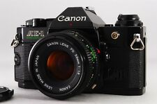 【NEAR MINT】Canon AE-1 PROGRAM + FD 50mm F1.8 SLR 35mm from japan #282