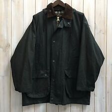 Vintage Mc Orvis MADE IN UK Classic Wax Cotton Jacket Coat Detachable Hood XXL