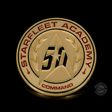 STAR TREK TOS Official 50th ANNIVERSARY Starfleet Academy Lapel Pin Qmx