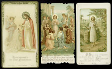 lotto santini-holy cards lot-lot images pieuses-konvolut heiligenbildichen 2501