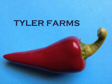 15+ Hot Fresno Pepper seeds (organic chili, chile) Hotter than a jalapeno