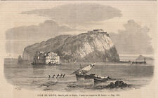 Nisida, 1860 napoli xilografia