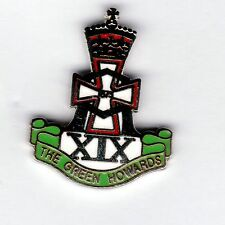 Enamel Lapel Badge Green Howards