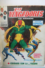 6.0 FN FINE AVENGERS # 57 SPANISH EURO VARIANT POCKET BOOK YP YOP 1969