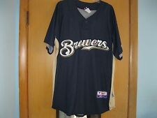 Ryan Braun - Autographed to Bob -Milwaukee Brewers MLB Blue-Gold Jersey Adult XL