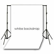 White Thin Vinyl Photography Backdrop Photo Background Studio Props 5X7FT