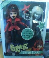 BRATZ STYLE STARZ CLOE DOLL WITH SINGING MIC SOUND NEW IN BOX GREAT GIFT!