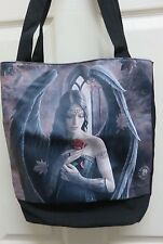 """Anne Stokes Fantasy Art """"Angel Rose"""" Tote Bag by Nemesis Now, New"""
