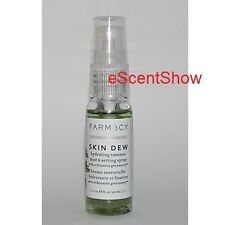 FARMACY SKIN DEW HYDRATING ESSENCE MIST & SETTING SPRAY .68 OZ / 20 ML BOTTLE