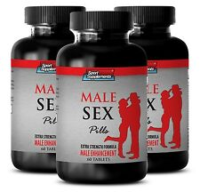 Testosterone Power - Male Sex Pills 1275mg - Increase Muscle Mass. Fat Burner 3B