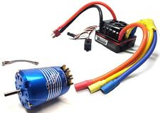 COMBO ROCKET BRUSHLESS CLASSIC 540 10.5T 3mm REGOLATORE 120A ESC 1/10 SENSORATO