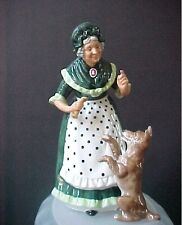 "Royal Doulton Figurine Old Mother Hubbard   HN 2314  8""     (Mint Condition)"