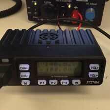 NEW JETSTREAM JT-270MH 25 WATT VHF UHF MOBILE RADIO HAM GMRS 2 WAY MURS FREE S/H