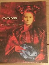 YOKO ONO-BLUE PRINT FOR SUNRISE PROMO CD POSTCARD 11.2001