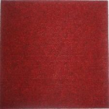 Carpet Tiles Peel and Stick 72 Square Feet Red Flooring Self Adhesive Squares