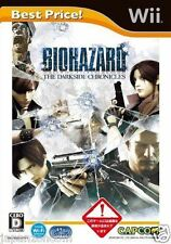 Used Wii Biohazard The Darkside Chronicles  JAPAN JP JAPANESE JAPONAIS IMPORT