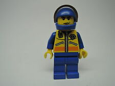 Lego Mini Figur City Küstenwache Pilot cty072  Set 4210 7738