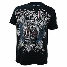 Manny Pacquiao Silver Star T Shirt Mens Large Boxing Tee L