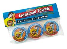 """Lightload Towels 3 Pack 12x24"""" Extreme Weight, Space and Life Savers"""