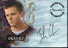 BUFFY STAGIONE 5 AUTOGRAFO CARD a27 Bailey Chase come Graham